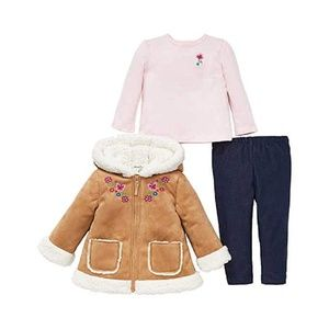 Little Me Kids 3-Piece Kids Clothing Back to Schoo